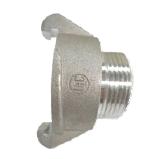 "External Lug Adapter 38mm to 19mm (3/4 "") MALE BSP thread"