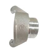 "External Lug Adapter 38mm to 25mm (1"") MALE BSP thread"