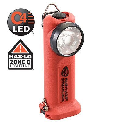 SURVIVOR® RIGHT ANGLE ATEX LIGHT : RECHARGEABLE